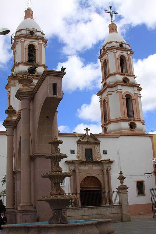 Parroquia de Nuestro Señor del Consuelo en Zacatecas