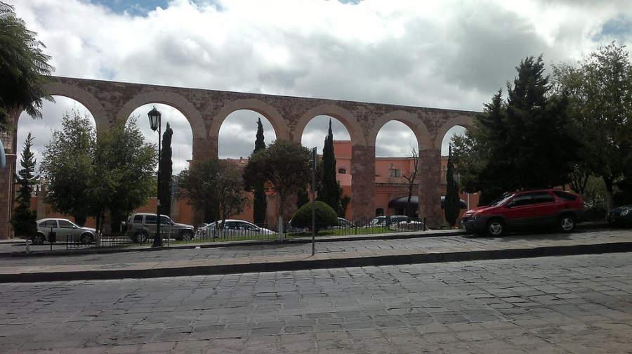 El Acueducto es un símbolo postal de Zacatecas