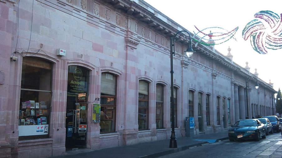 Mercado González Ortega en Zacatecas
