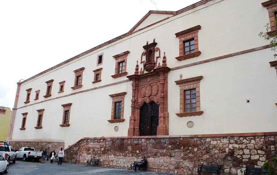 Exterior del Museo Pedro Coronel en Zacatecas