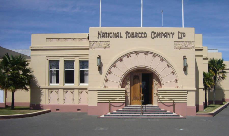 National Tobacco Company, famoso edificio art decó