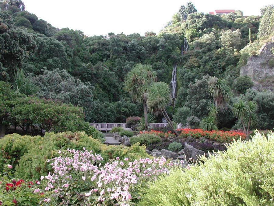 Centennial Gardens, bellos jardines en Napier