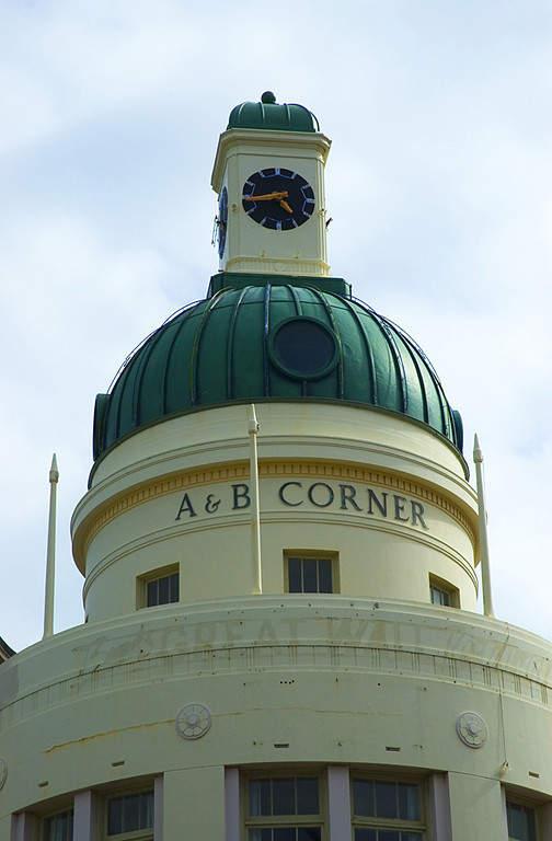 Napier tiene numerosos edificios estilo art decó