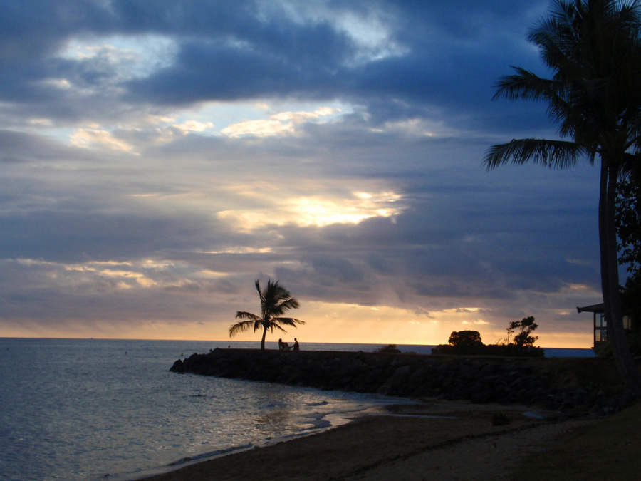 Playa Anse Vata en Numea