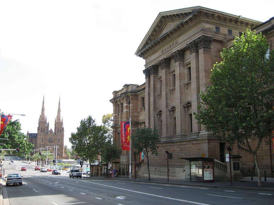 Australian Museum, museo de historia natural y antropología en Sídney