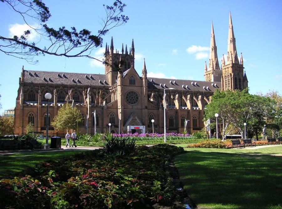 St Mary's Roman Catholic Cathedral, catedral de Sídney