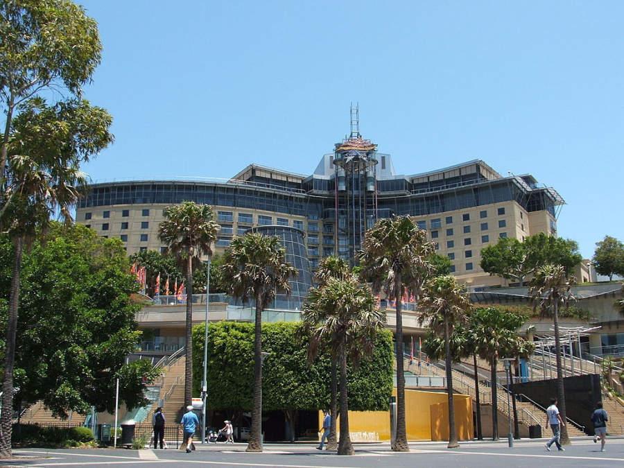 Star City Casino en el suburbio de Pyrmont en Sídney