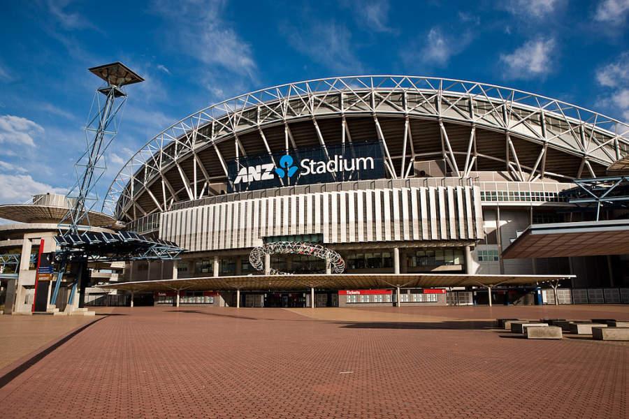 ANZ Stadium, estadio de futbol en Sídney