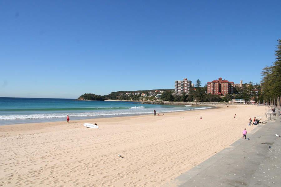 Manly Beach, una de las playas más populares en Sídney