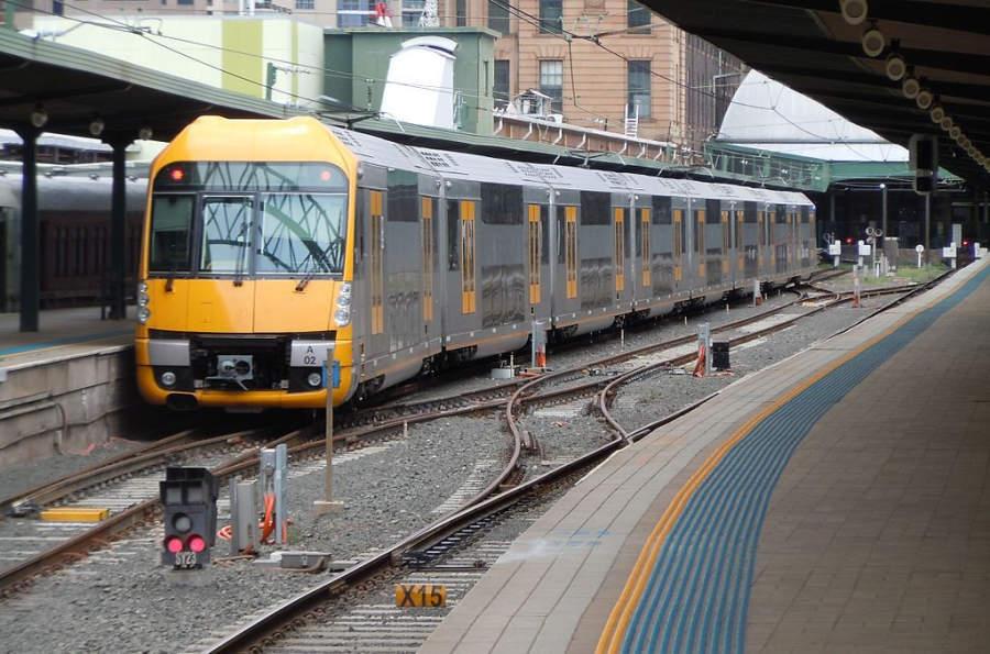 Estación de tren en Sídney