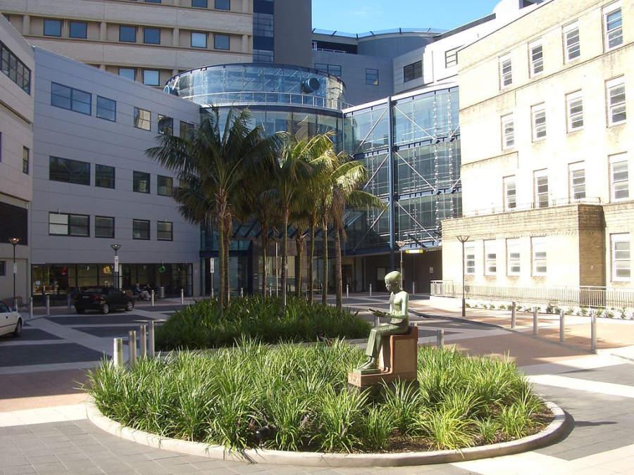 Royal Prince Alfred Hospital, uno de los hospitales más grandes de Sídney