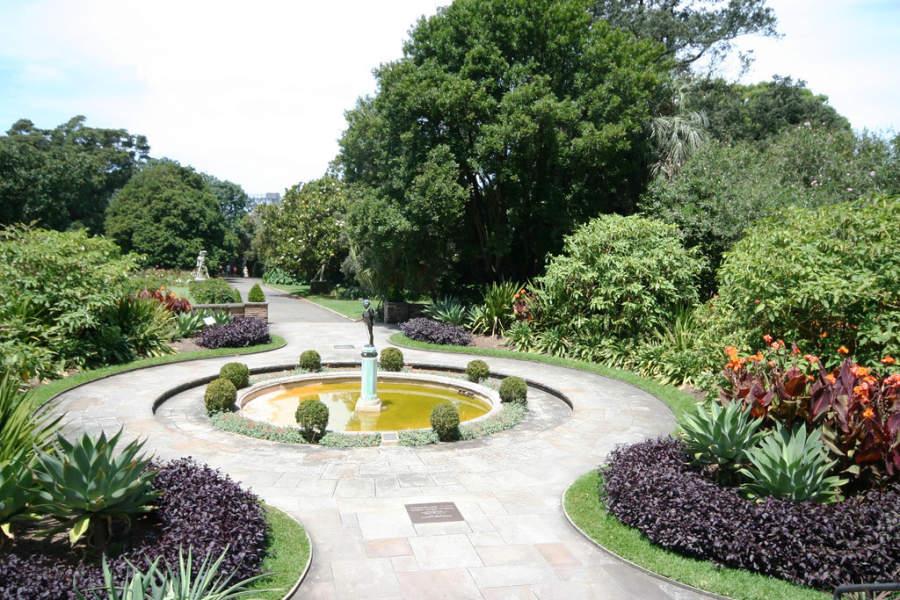 Royal Botanic Gardens, uno de los tres jardines botánicos de Sídney