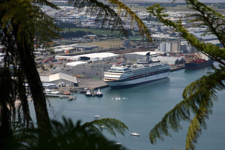 Tauranga se ubica en la Isla Norte de Nueva Zelanda
