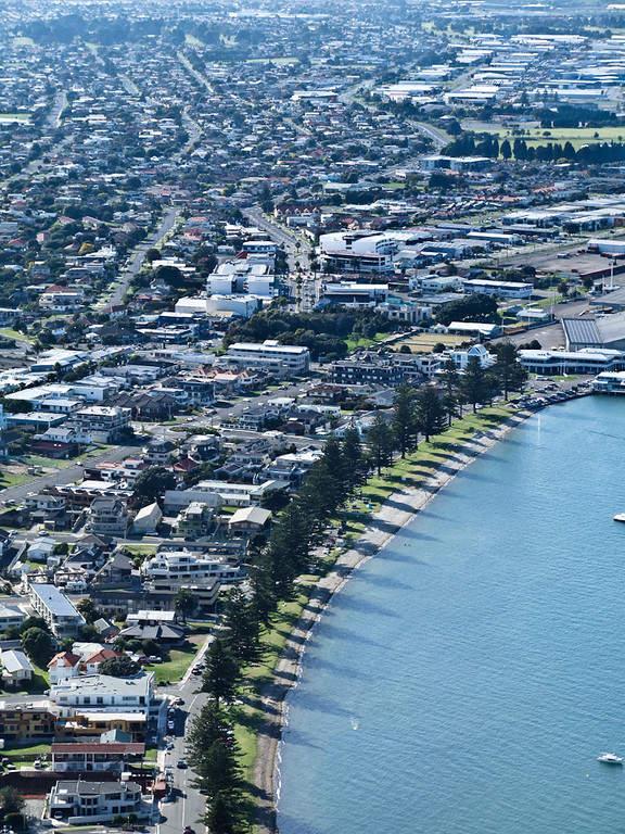 Tauranga es la ciudad más grande de la región de Bay of Plenty