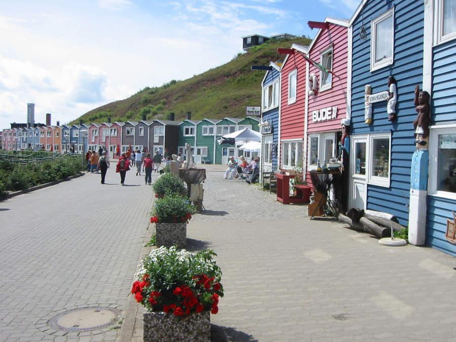 Calle principal de Heligoland