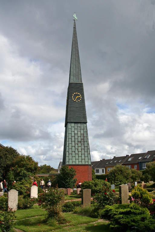 Iglesia St Nicolai Kirche en Heligoland