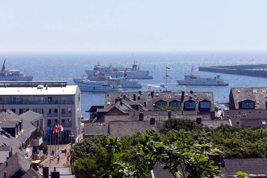 Heligoland es un puerto de importancia para distintas embarcaciones