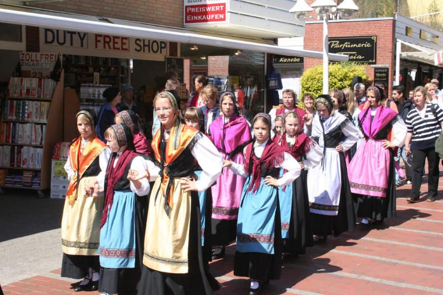 Desfile en Heligoland