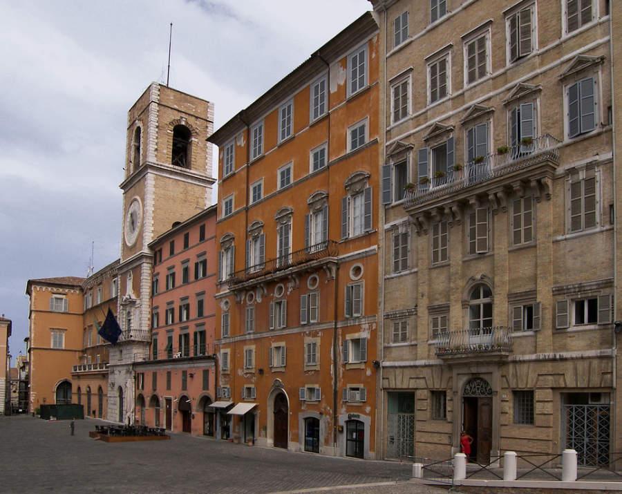 Piazza del Plebiscito, plaza en Ancona