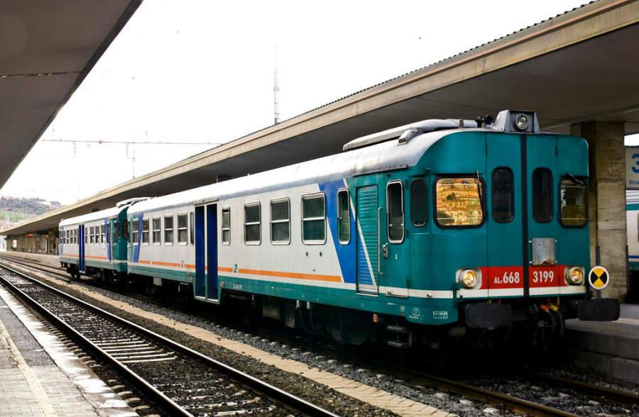 Estación de tren en Ancona