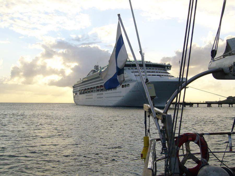 Crucero en Fort-de-France