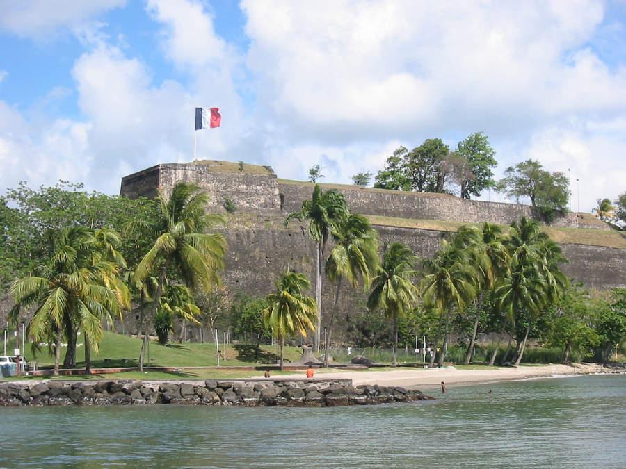 Fort Saint-Louis en Fort-de-France