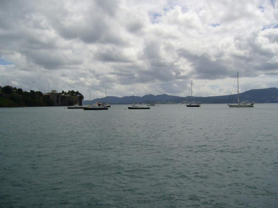 Actividades acuáticas en Fort-de-France