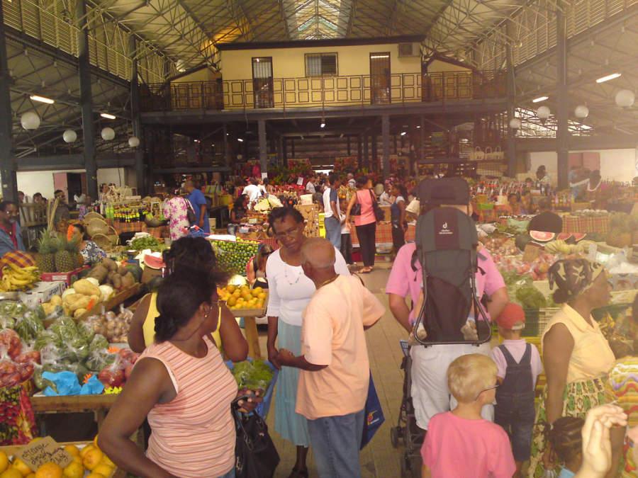 Mercado de Fort-de-France
