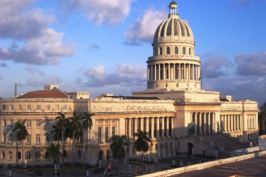 Capitolio Nacional en La Habana