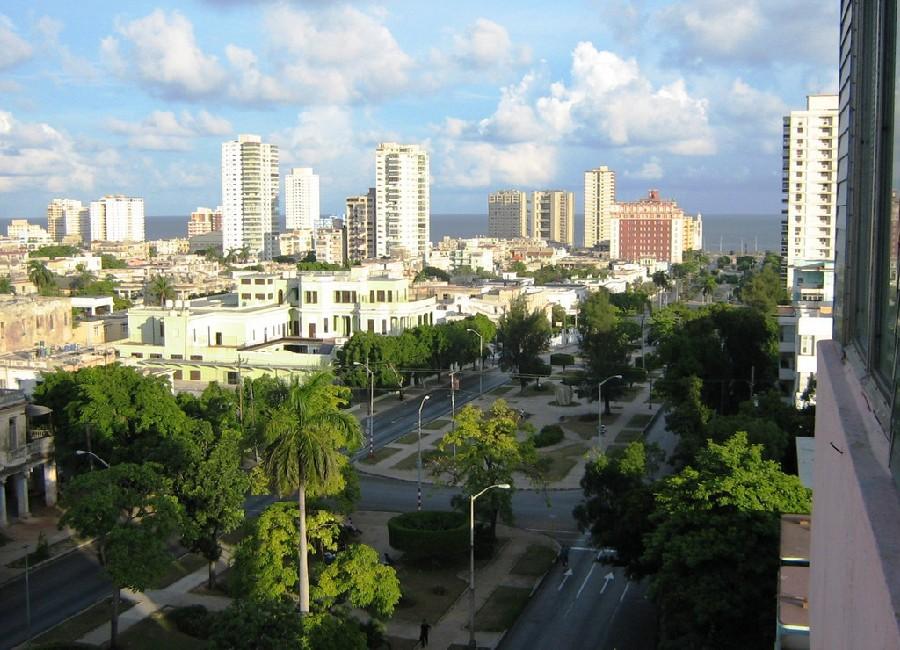 Vedado, centro comercial de La Habana