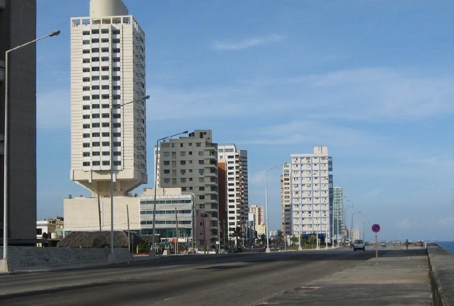Malecón en Vedado