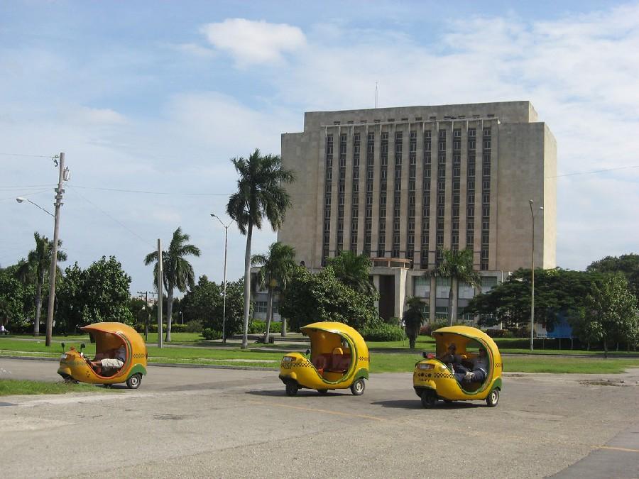Coco Taxis de tres ruedas