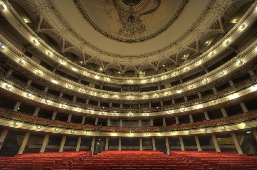 Interior del Gran Teatro