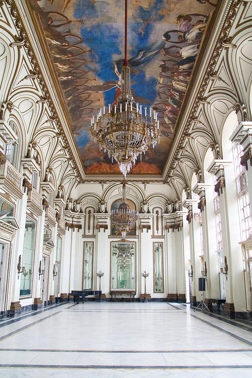 Interior del Museo de la Revolución