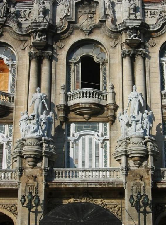 Fachada del Gran Teatro de La Habana