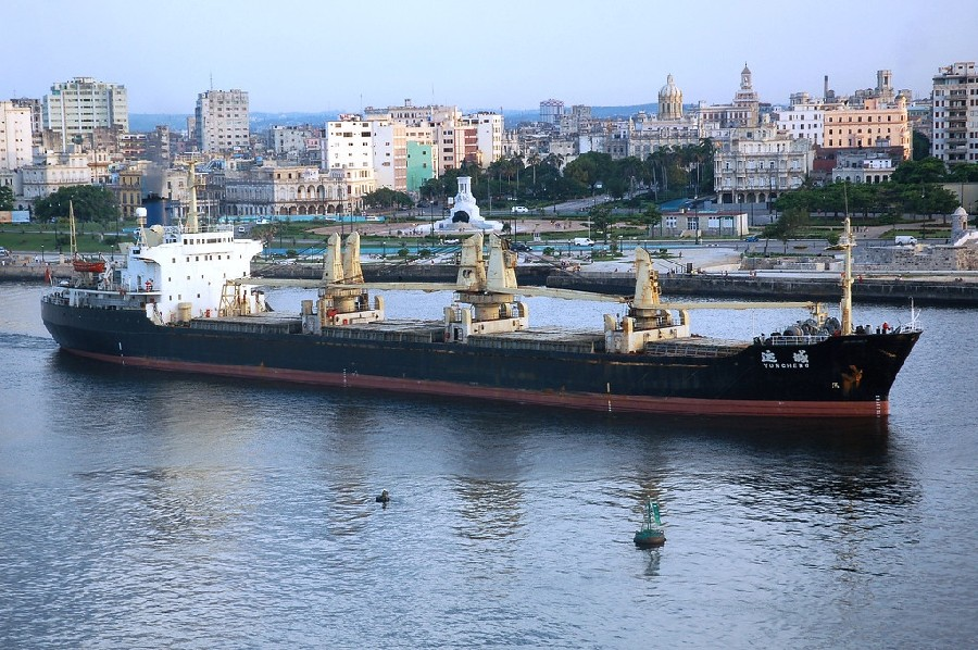 Bahía y puerto de La Habana