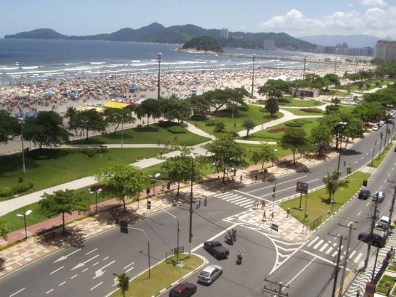 Jardines costeros de Santos