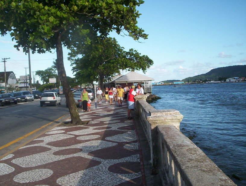 Ponta da Praia, barrio en Santos