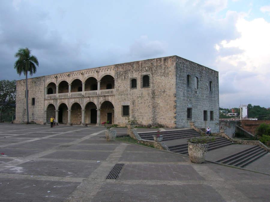 Alcázar de Colón, primer castillo de América