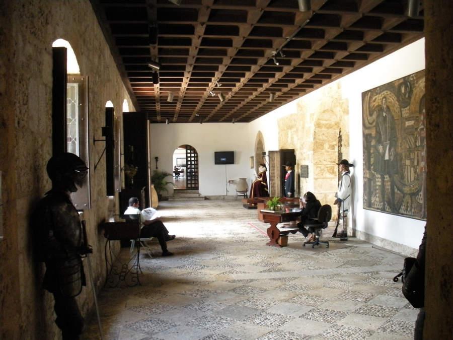 Interior del Museo de las Casas Reales