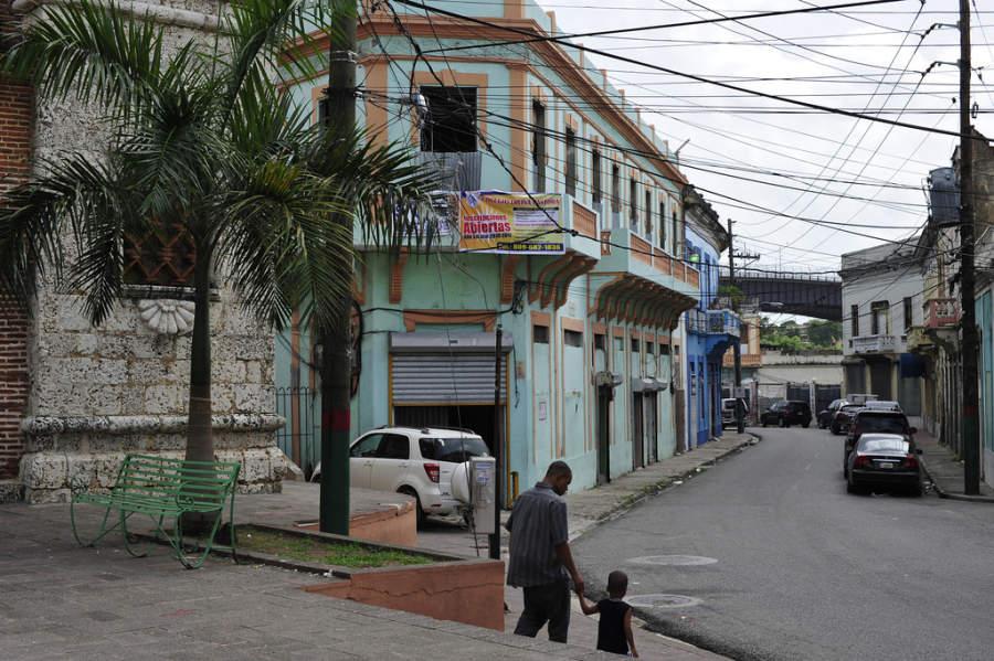 Avenida de la Zona Colonial en Santo Domingo