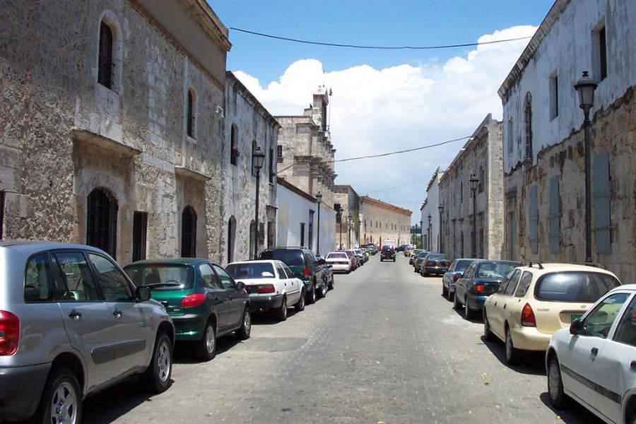 Calle de Las Damas en la Zona Colonial de Santo Domingo