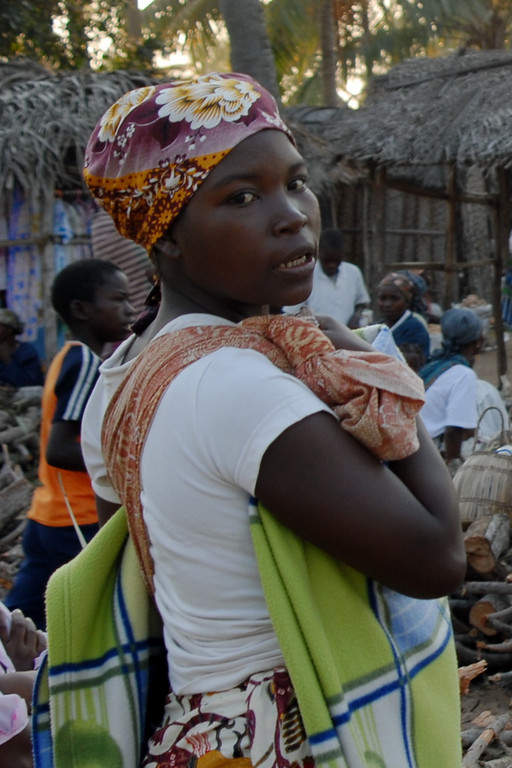 Residente de Inhambane, Mozambique