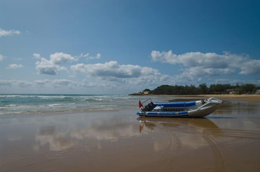 Praia do Tofo, playa a 22 kilómetros de Inhambane