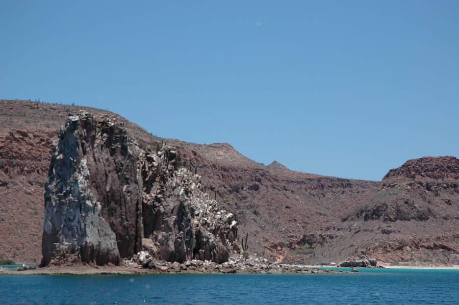 Paisaje desértico en La Paz
