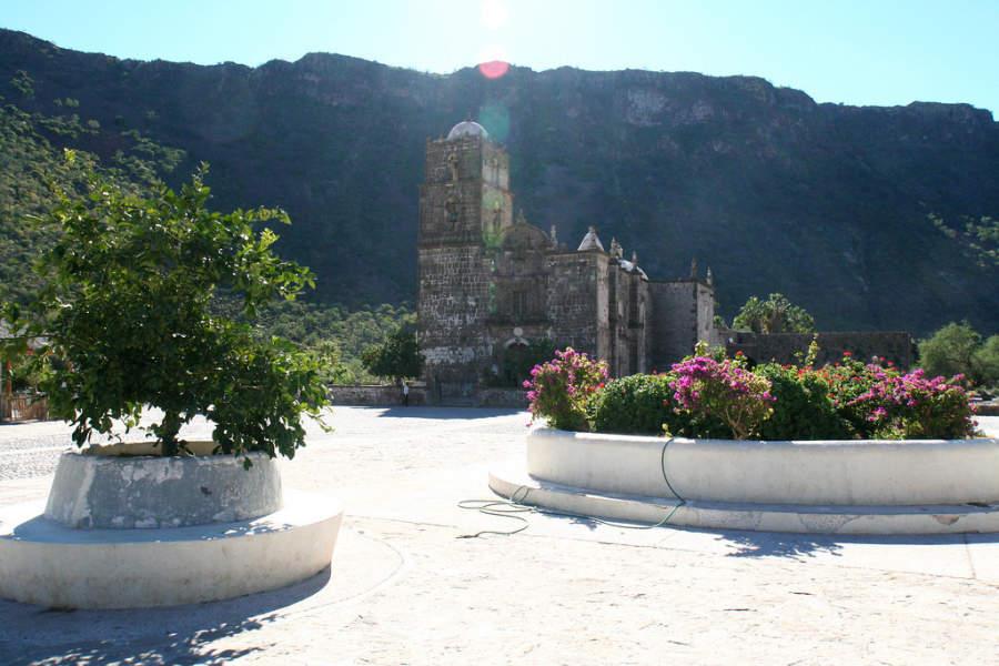 Iglesia católica en La Paz