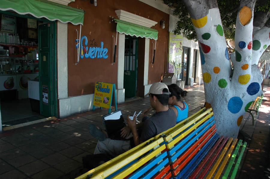 Visita una heladería tradicional en La Paz
