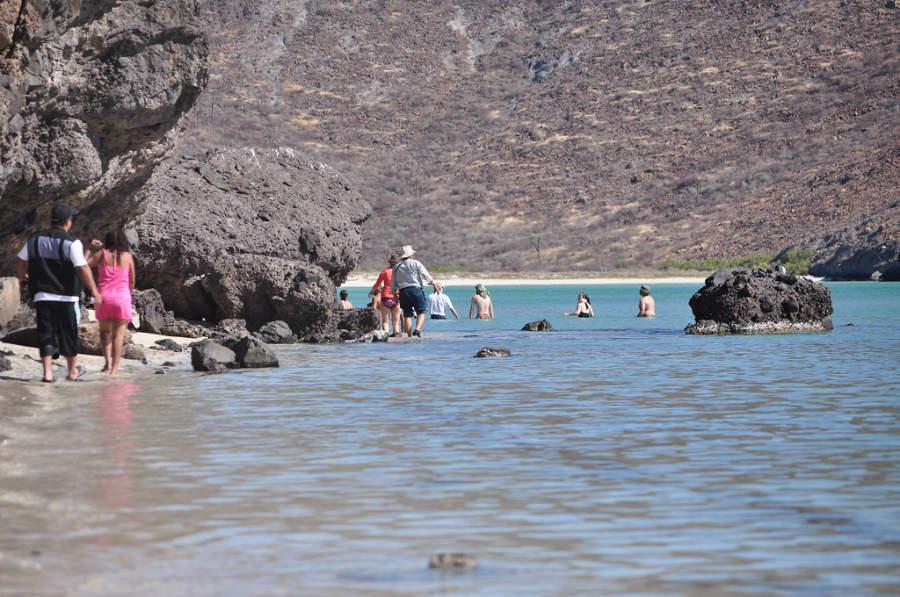 Playa en La Paz