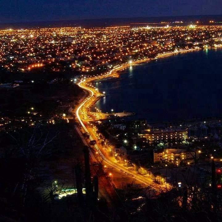 Anochecer en La Paz