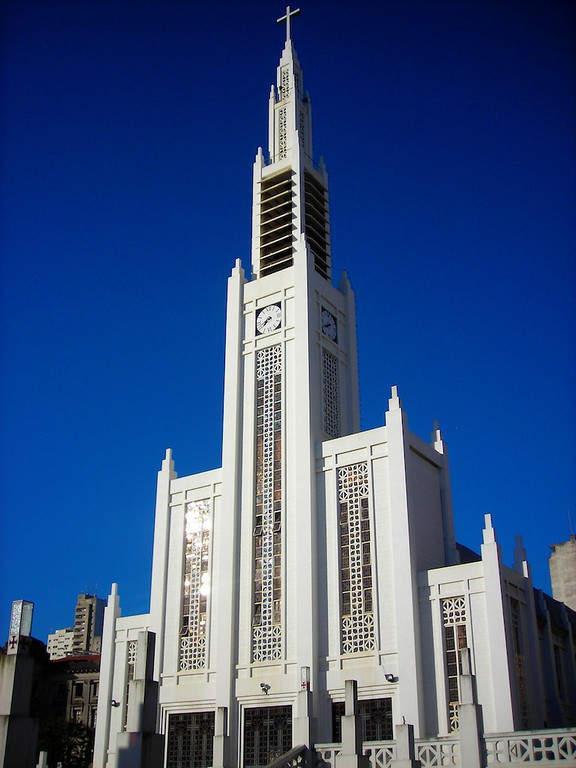 Catedral da Nossa Senhora da Conceição en Maputo, Mozambique